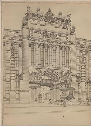 Einige Skizzen, Projekte und Ausgeführte Bauwerke IV,: Otto Wagner
