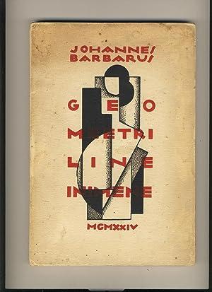 Geomeetriline inimene. V kogu värsse: Johannes Barbarus (Jaan