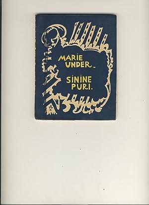Sinine puri: Marie Under