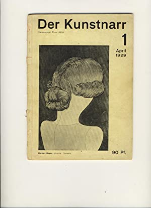 Der Kunstnarr 1 April 1929 (all published): Kallai, Ernst