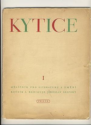 Kytice. mesicnik pro literaturu a umeni Roc.: Jaroslav Seifert, ed
