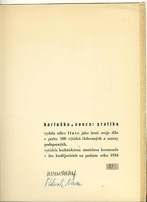 Grafika: Bartuska, Josef; Nouza, Oldrich