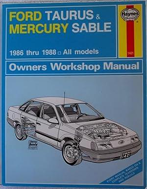 Ford Taurus & Mercury Sable 186-188 All: Haynes