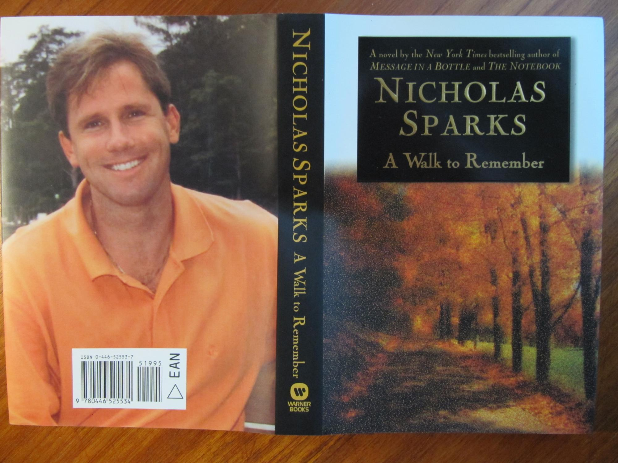 a walk to remember first edition as new un a walk to remember 031 first edition as new un unopened 031 by sparks nicholas 3rd novel by the author of the notebook and message in a