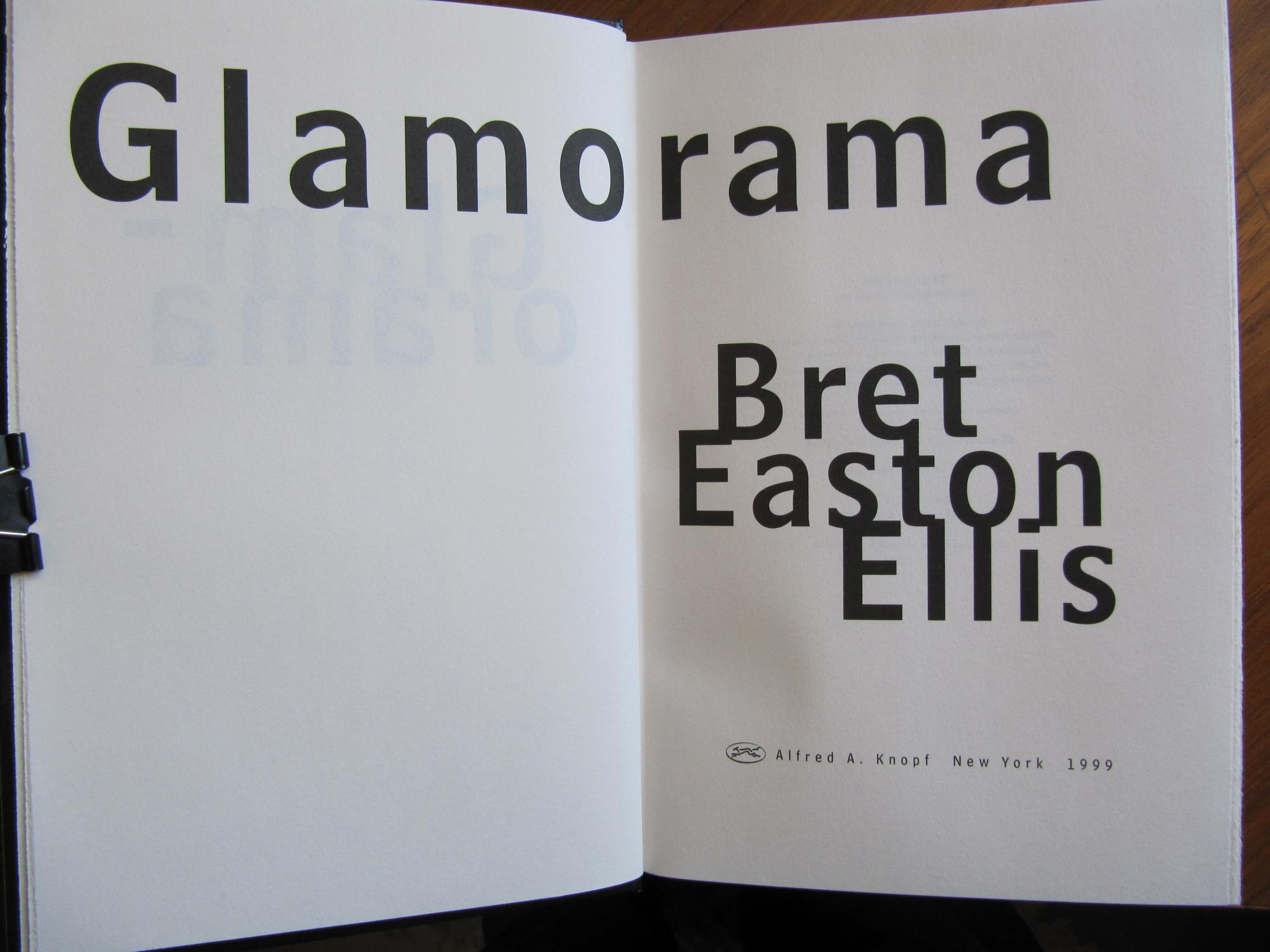 a brief overview of the book glamorama by bret easton eliss Immediately download the glamorama: a novel summary the book opens with victor character analysis of victor ward in glamorama by bret easton ellis.