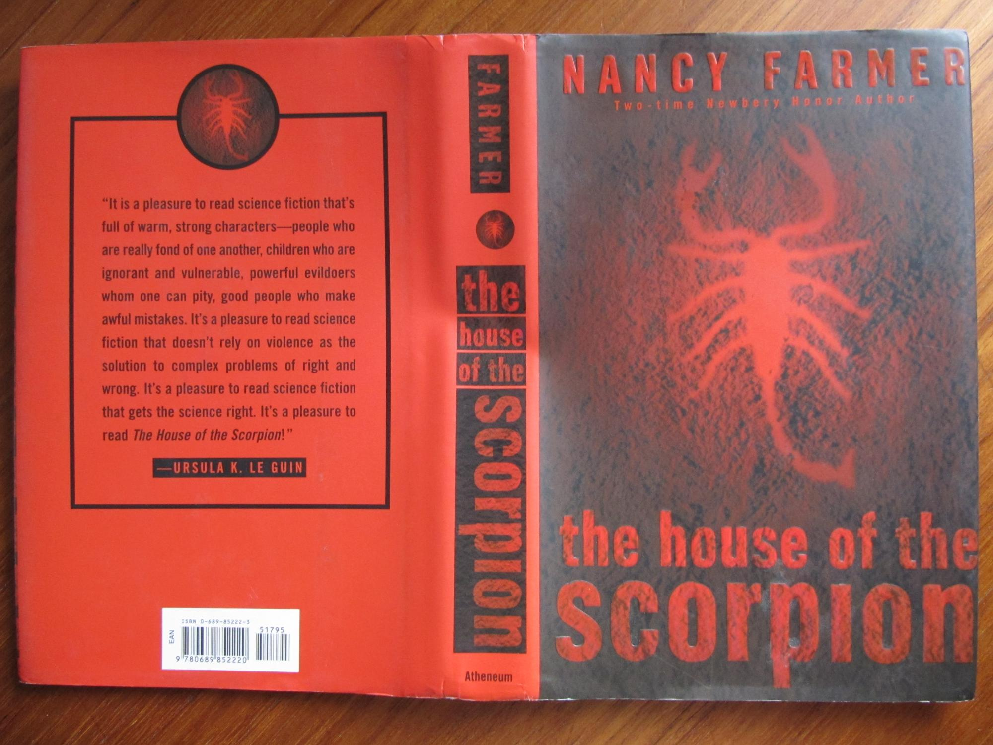 house of the scorpion Nancy farmer official website, biography, news, reviews, personal statements  the sequel to the house of the scorpion will come out on september 3, 2013.