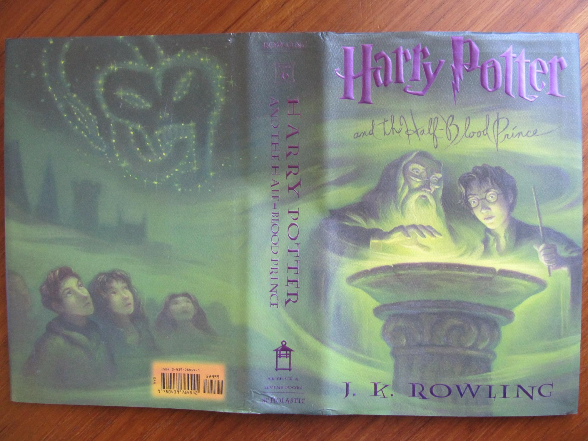 first edition harry potter and the half blood prince