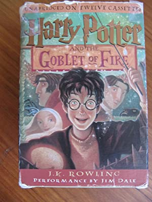 HARRY POTTER and the GOBLET of FIRE: CASSETTE/AUDIO BOOK [072]**{LIKE NEW ~ ENJOYED ONCE ~ ...