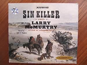 SIN KILLER: CD/AUDIO BOOK [073]**{LIKE NEW ~: McMURTRY, LARRY: 1st