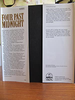 FOUR PAST MIDNIGHT: [117**{FIRST EDITION ~ NEAR FINE ~ UNREAD or GENTLY READ}**[117]: KING, STEPHEN...