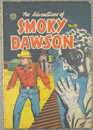 The Adventures of Smoky Dawson - Comic Book: Smoky Dawson