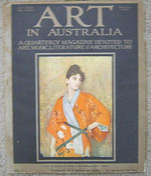 Art in Australia. A Quarterly Magazine Devoted: Smith, Ure. &