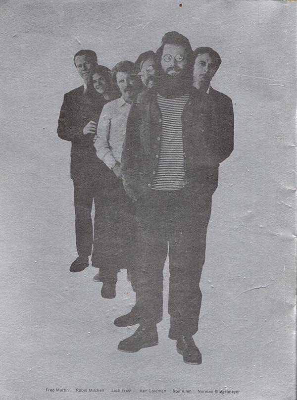 Norman Stiegelmeyer, Robin Mitchell, Ken Goldman, Jack Frost, Ron Allen, Fred Martin: Norman ...