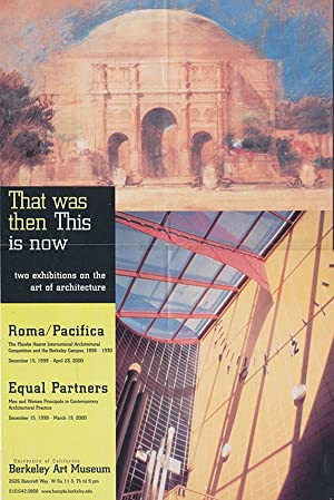 Roma/Pacifica and Equal Partners (Berkeley Art Museum, Poster)
