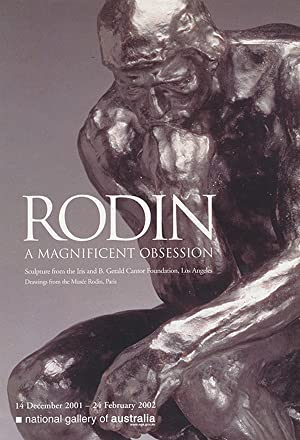 Rodin: A Magnificent Obsession (Exhibition Poster, National Gallery of Australia)