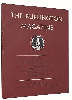 The Burlington Magazine (No. 690, Volume CII, September 1960): Nicolson, Benedict (editor)