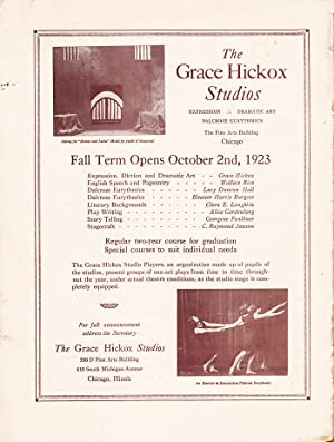 The Drama (August-September, 1923): Hinckley, Theodore Ballou (editor)