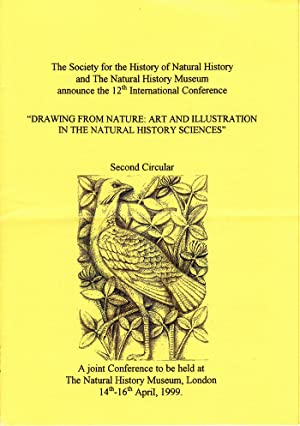 Conference Pamphlet: Drawing From Nature: Art and Illustration in the Natural History Sciences (1...