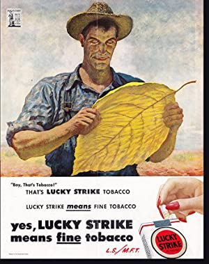 Lucky Strike Means Fine Tobacco (L.S./M.F.T): Original: Army and Navy