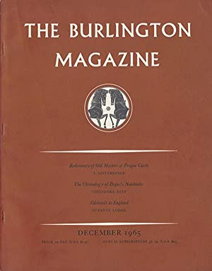 The Burlington Magazine: Special Issue Commemorating the Bicentenary of the Royal Academy (1768: ...