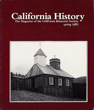 California History (Volume LX, No. 1, Spring: California Historical Society