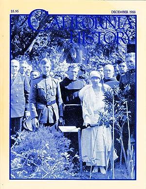 California History (Volume LXVII, No. 4, December: California Historical Society