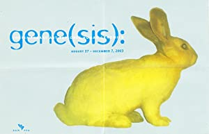 Gene(sis): Contemporary Art Explores Human Genomics (Poster/Brochure)