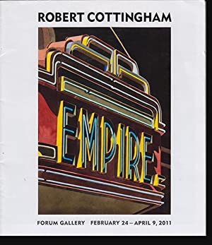 Robert Cottingham: Empire (Poster/Invitation for 2011 Forum Gallery Exhibition)