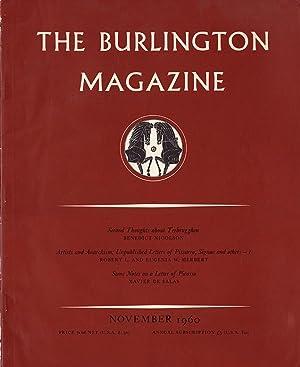 The Burlington Magazine (No. 692, Vol CII, November 1960): Nicolson, Benedict (editor)