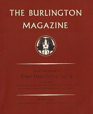 The Burlington Magazine (Volume CV, Number 701, June 1963): Nicolson, Benedict (editor)
