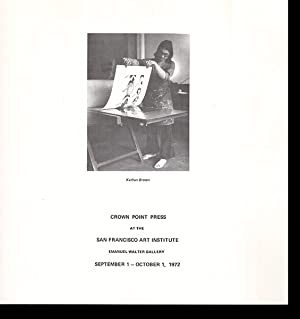 Crown Point Press at the San Francisco Art Institute, 1972: Brown, Kathan