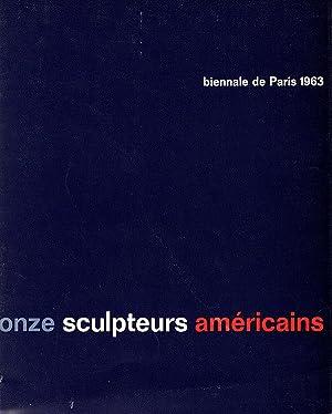 Onze Sculpteurs Americains de l'Universite de Californie, Berkeley (Biennale de Paris 1963): ...