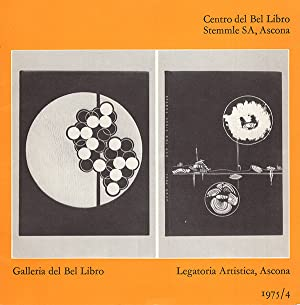 Legatoria Artistica, Ascona, 1975/4 (Exhibition Guide): Ascona Galleria