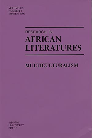 Research in African Literatures: Multiculturalism (Volume 28,: Fourny, Jean-Francois and