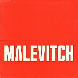 Malevitch: Dessins (19 Novembre-31 Decembre 1970): Marcade, Jean Claude