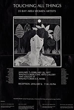 Touching All Things: 35 Bay Area Women Artists, Mailer and Exhibition Poster for January 7-Februa...