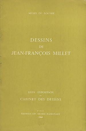 Dessins de Jean-Francois Millet (XXVIe Exposition du: Millet, Jean-Francois; Bouchot-Saupique,
