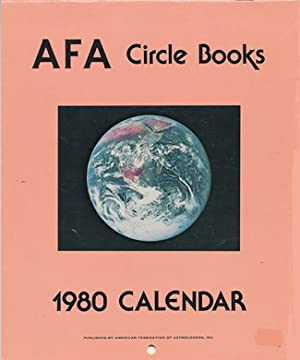 Collection of AFA Circle Books Astrological Calendars from 1979-1995
