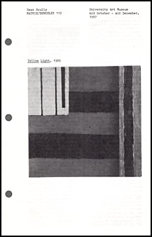 Matrix/Berkeley 112: Sean Scully (October-December 1987, Gallery: Lewallen, Constance