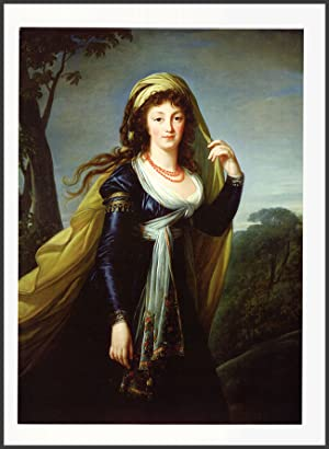 Poster: The Portrait of Theresa, Countess Kinsky, 1793 by Marie Louise Elisabeth Vigee-LeBrun