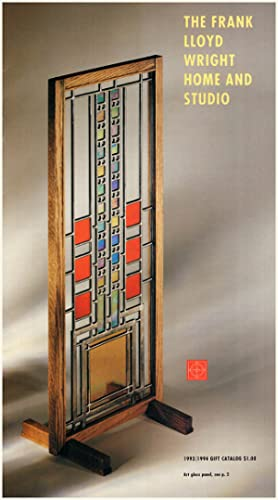 Frank Lloyd Wright Home and Studio: 1993-1994 Gift Catalog