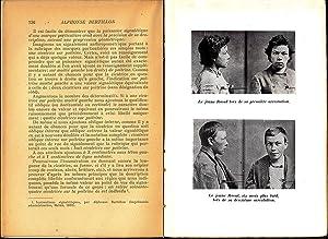 Vie d'Alphonse Bertillon, inventeur de l'anthropometrie: Bertillon, Suzanne