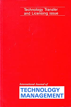 IJTM: Technology Transfer and Licensing Issue (Volume: Dorgham, M. A.