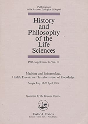 History and Philosophy of the Life Sciences: N/A