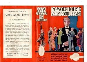 Very Good Jeeves: P G Wodehouse
