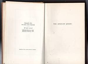 The African Queen: C S Forester