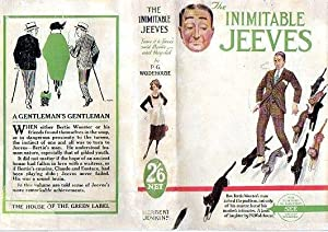 The Inimitable Jeeves: P g Wodehouse