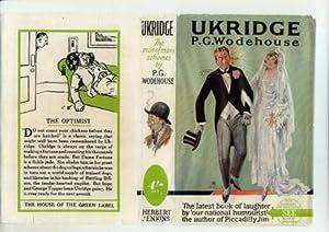Ukridge: P g Wodehouse