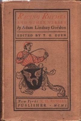 Racing Rhymes & Other Verses: Gordon, Adam Lindsay