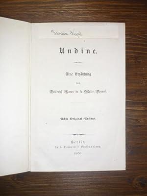 Undine.: Motte Fouqué, Friedrich Baron de la.
